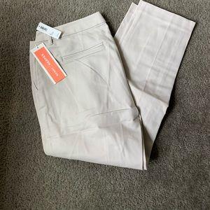 Old Navy light Harper khakis size 10 NWT